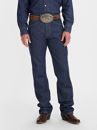 Western Fit Men S Jeans Dark Wash Levi S Us