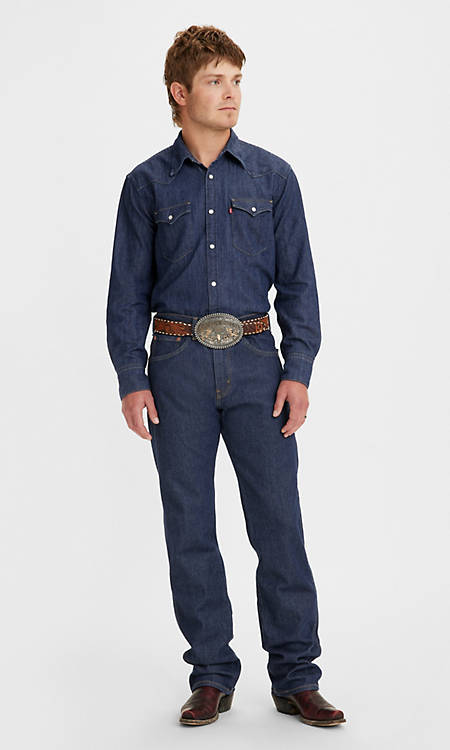 Western Fit Men's Jeans - Dark Wash   Levi's® US