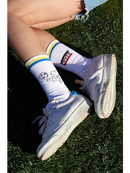 Chaussettes sport standard Levi'sMD x Peanuts - Duopak