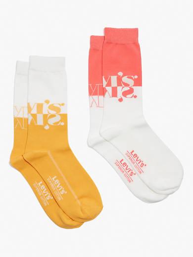 Mismatched Levi's® Logo Socks (2 Pack)