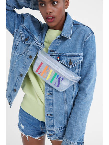Levi's® Pride Logo Sparkle Sling