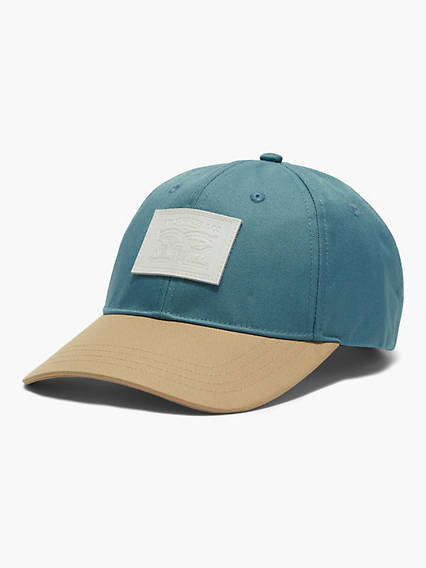 Two-Horse Patch Baseball Cap