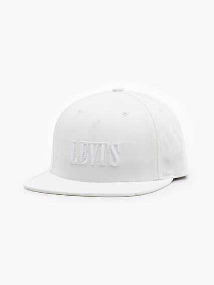 Levi's Logo Flat Brim Hat