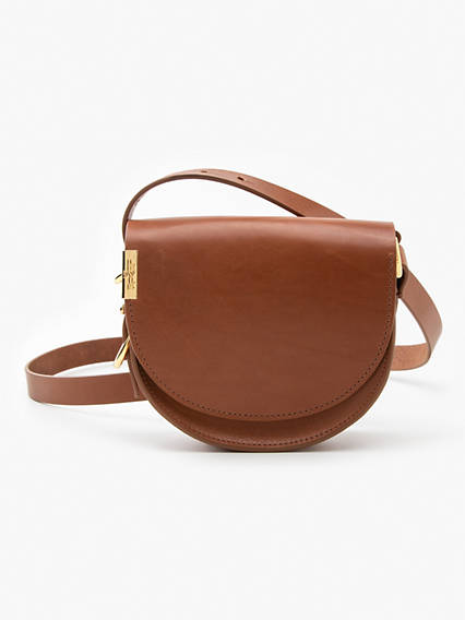 Small Saddle Crossbody Bag