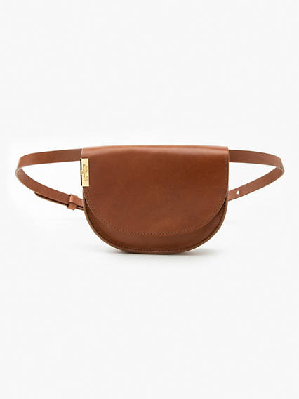 Waist Crossbody Leather Bag
