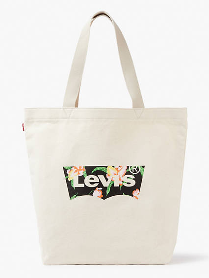 Floral Batwing Tote