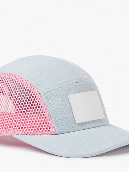 Mesh 5 Panel Denim Hat