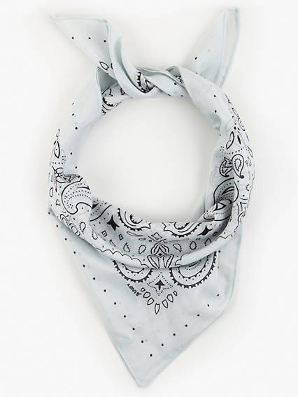Vintage Western Wear Clothing, Outfit Ideas Levis Bandana - Womens One Size $29.50 AT vintagedancer.com