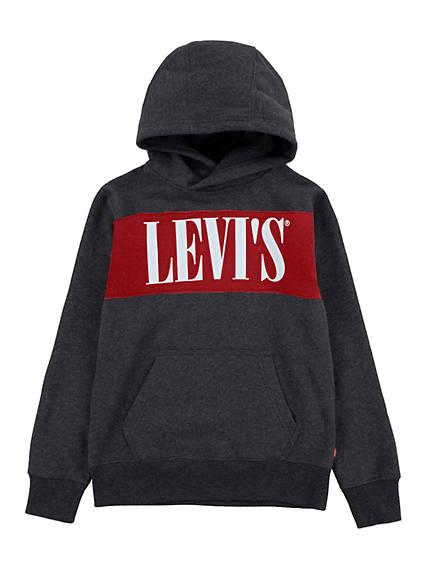 Big Boys S-XL  Levi's® Serif Hoodie