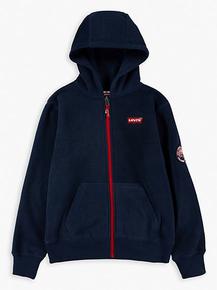 Little Boys (4-7) Full Zip Up Hoodie