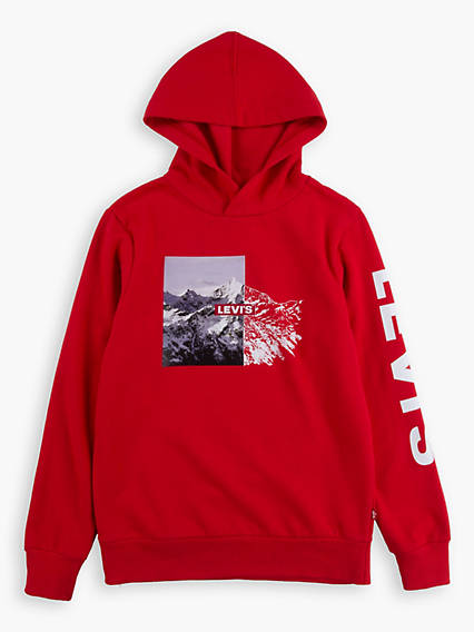 Big Boys S-XL Graphic Hoodie
