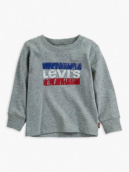 Baby Long Sleeve Graphic Tee Shirt