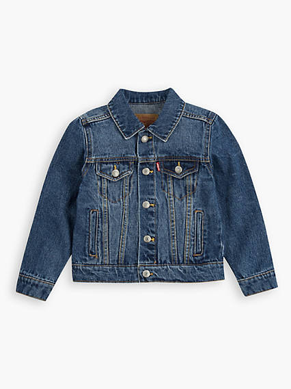 Toddler Boys 2T-4T Denim Trucker Jacket