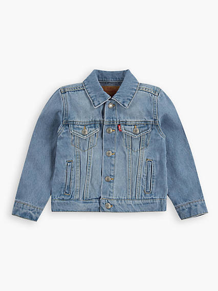 Toddler Boys 2T-4T Denim Trucker Jacket