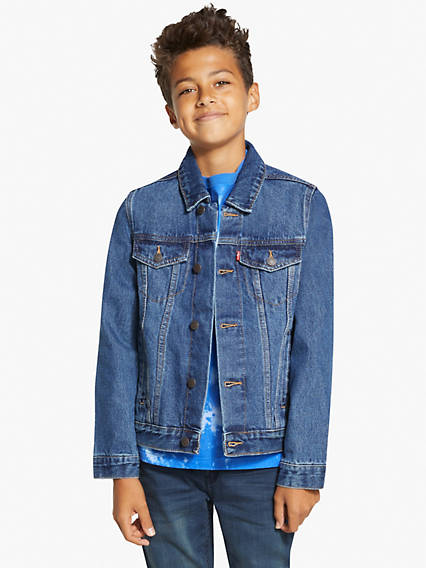 Big Boys (8-20) Denim Trucker Jacket