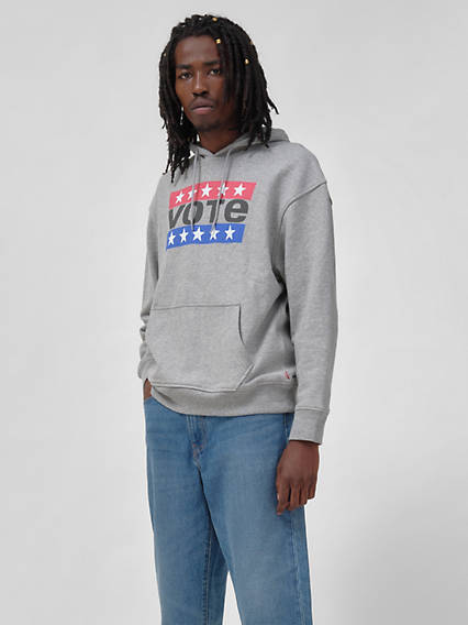 Levi's® x Vote Relaxed Graphic Pullover
