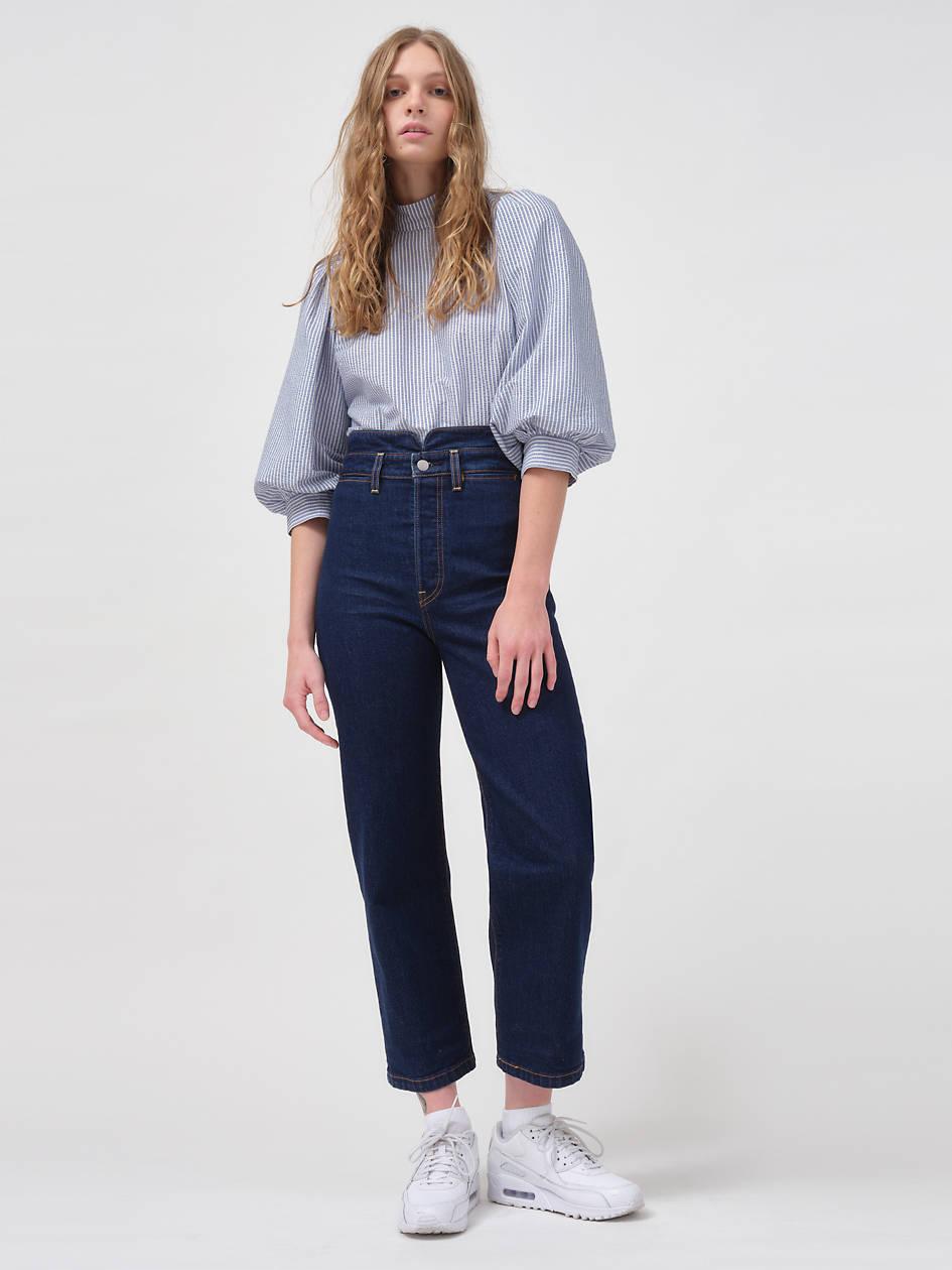 Ribcage Straight Ankle Women's Jeans - Medium Wash   Levi's® US