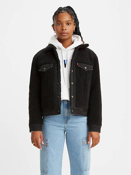 Ex-Boyfriend Pieced Trucker Jacket