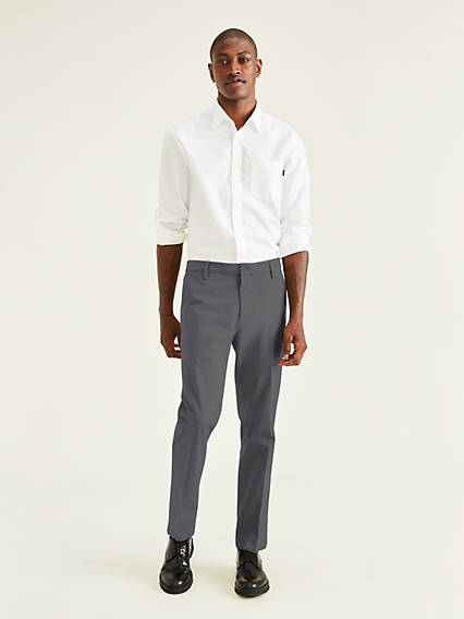 Men's Workday Khaki Pants, Straight Fit