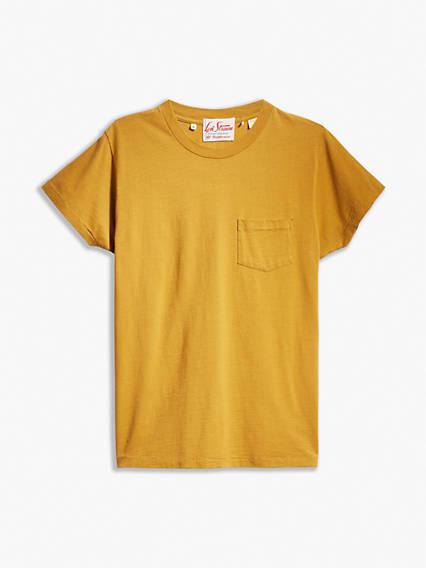 1950s Mens Shirts | Retro Bowling Shirts, Vintage Hawaiian Shirts Levis 1950s Sportswear Tee Shirt T-Shirt - Mens L $88.00 AT vintagedancer.com