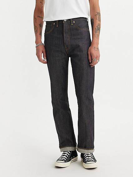 1940s Trousers, Mens Wide Leg Pants Levis 1944 501 Original Fit Mens Jeans 31x32 $285.00 AT vintagedancer.com