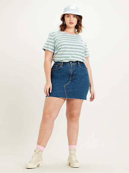 Deconstructed Skirt (Plus Size)