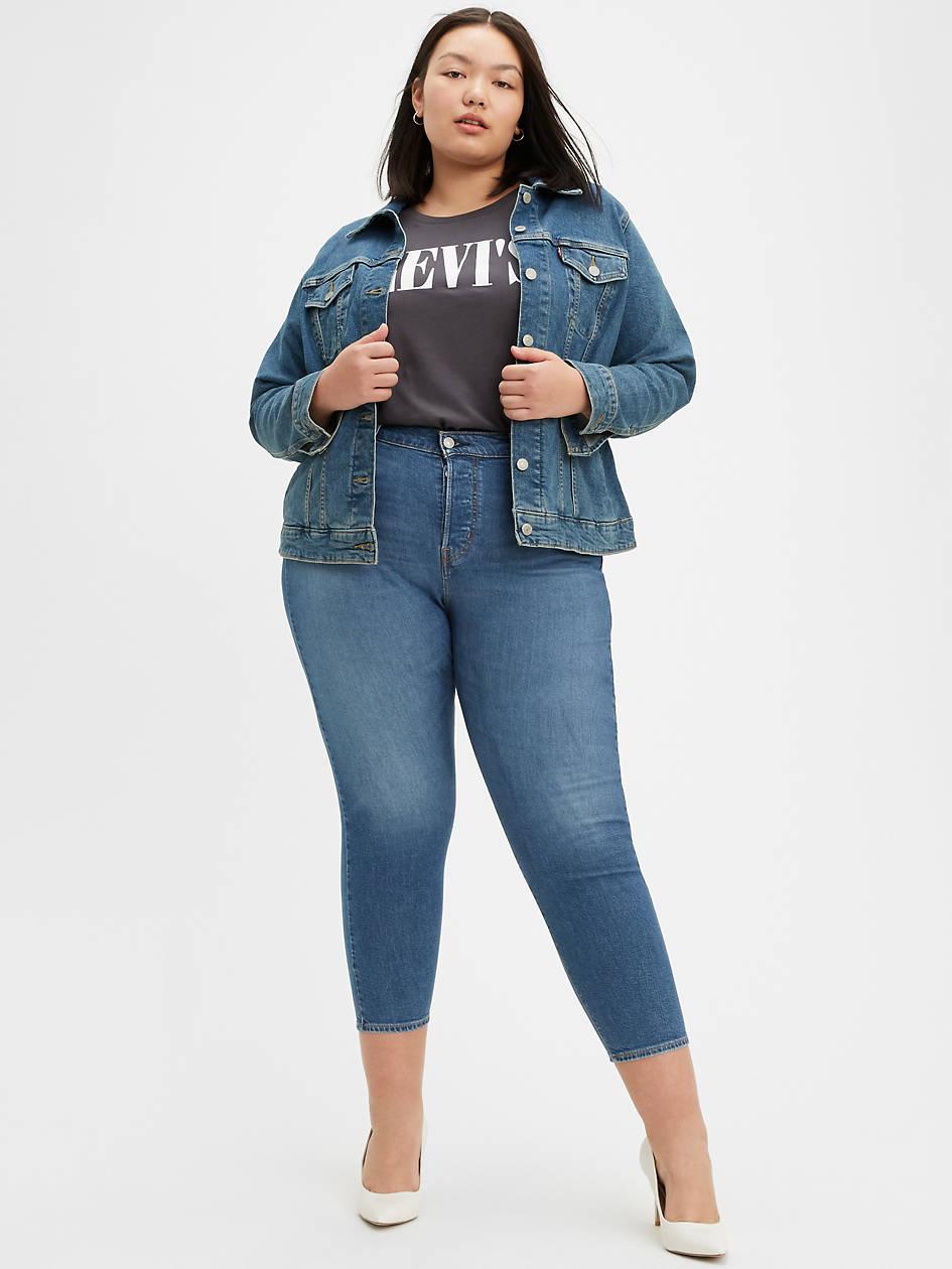 Wedgie Fit Skinny Women's Jeans (plus Size) - Medium Wash | Levi's® US