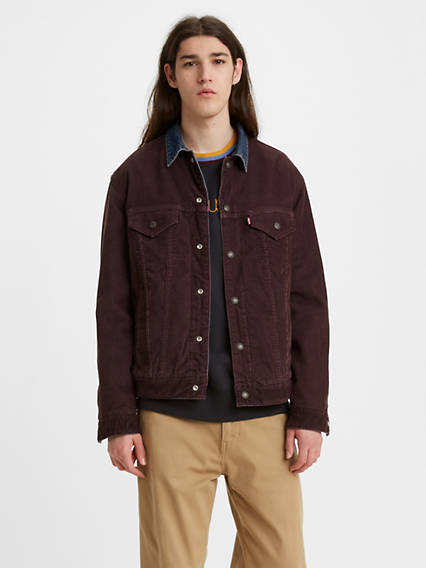 Two Faced Corduroy Trucker Jacket
