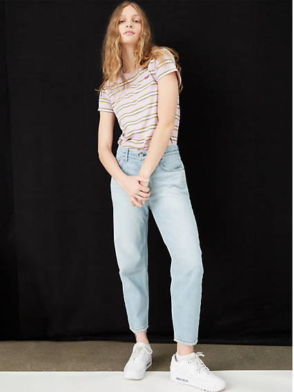 Loose Taper Crop Women's Jeans
