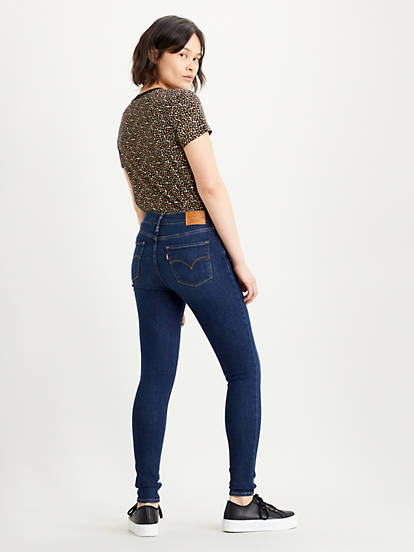 720™ High waisted Super Skinny Jeans Indigo | Levi's® NO