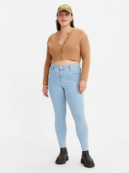 Levi's® 720 HIGH RISE SUPER SKINNY Jeans Skinny light