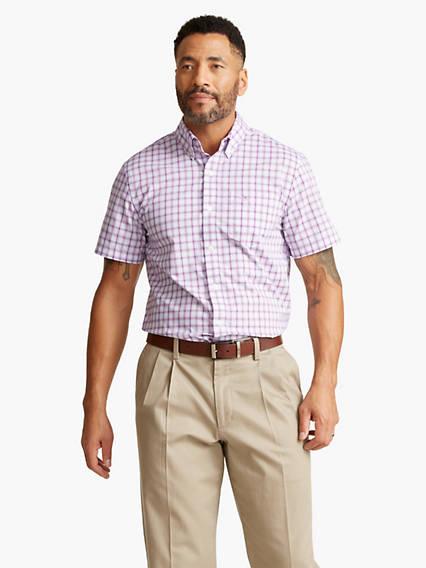 Men's Signature Comfort Flex, Button Down Shirt, Classic fit