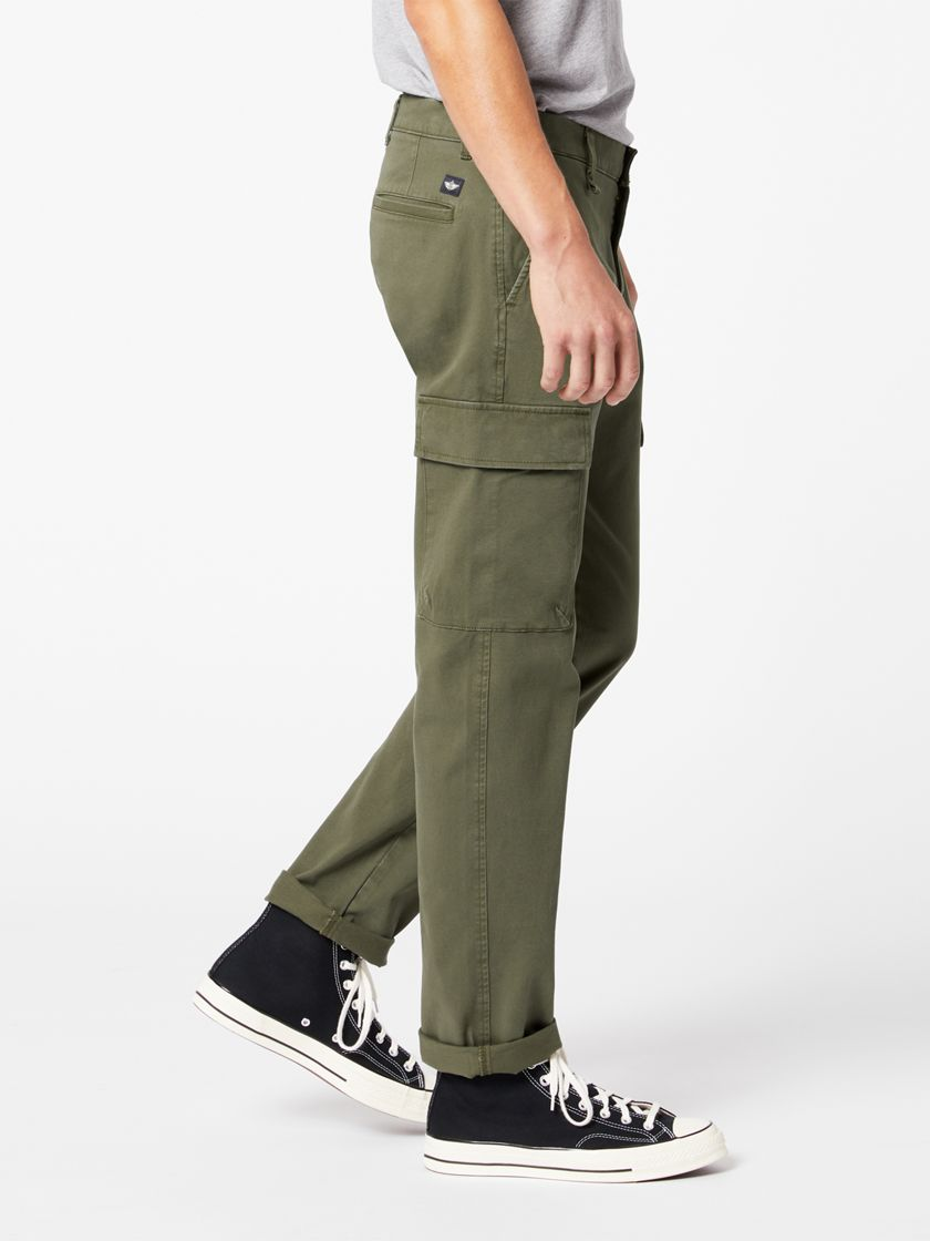 Ultimate Cargos, Straight Fit - Green 548870006 | Dockers® US
