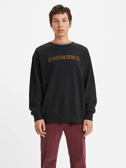 Oversized Crewneck Sweatshirt