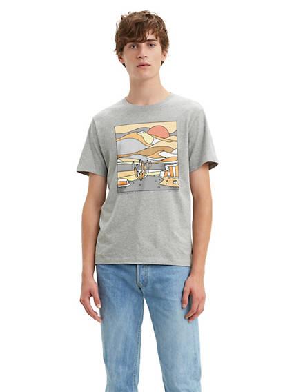 Desert Scape Graphic Tee Shirt