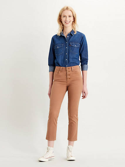 724™ Cropped Utility Jeans