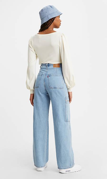Utility High Loose Women's Jeans - Medium Wash | Levi's® US