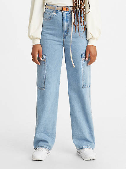 Utility High Loose Women's Jeans