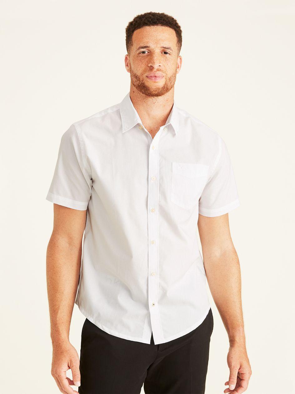 Signature Comfort Flex Shirt (big And Tall) - White 559780000   Dockers® US