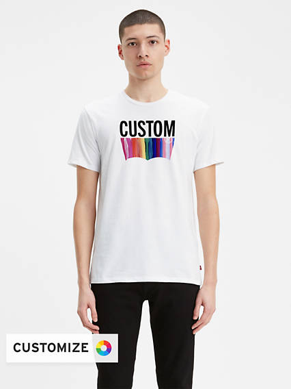 Men's Blank Artist Tee Shirt