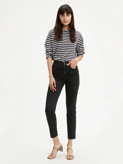 724™ High-Waisted Straight Crop Jeans