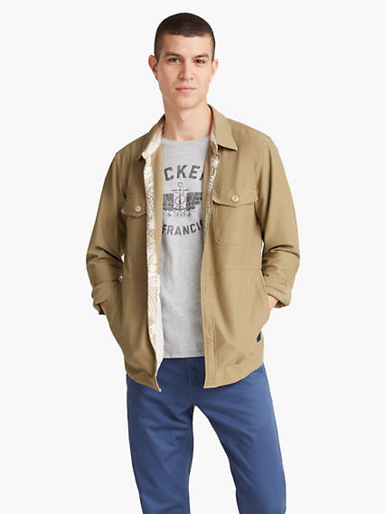 Dockers? Alpha Men's Supreme Flex? Shirt Jacket