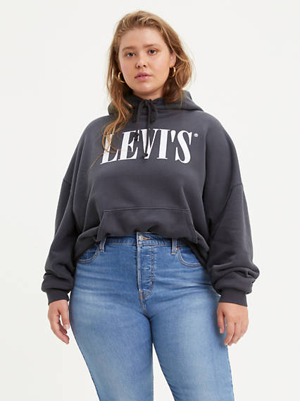 The Graphic Hoodie (Plus Size)