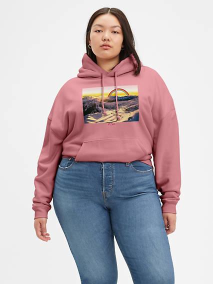 Standard Hoodie Sweatshirt (Plus Size)