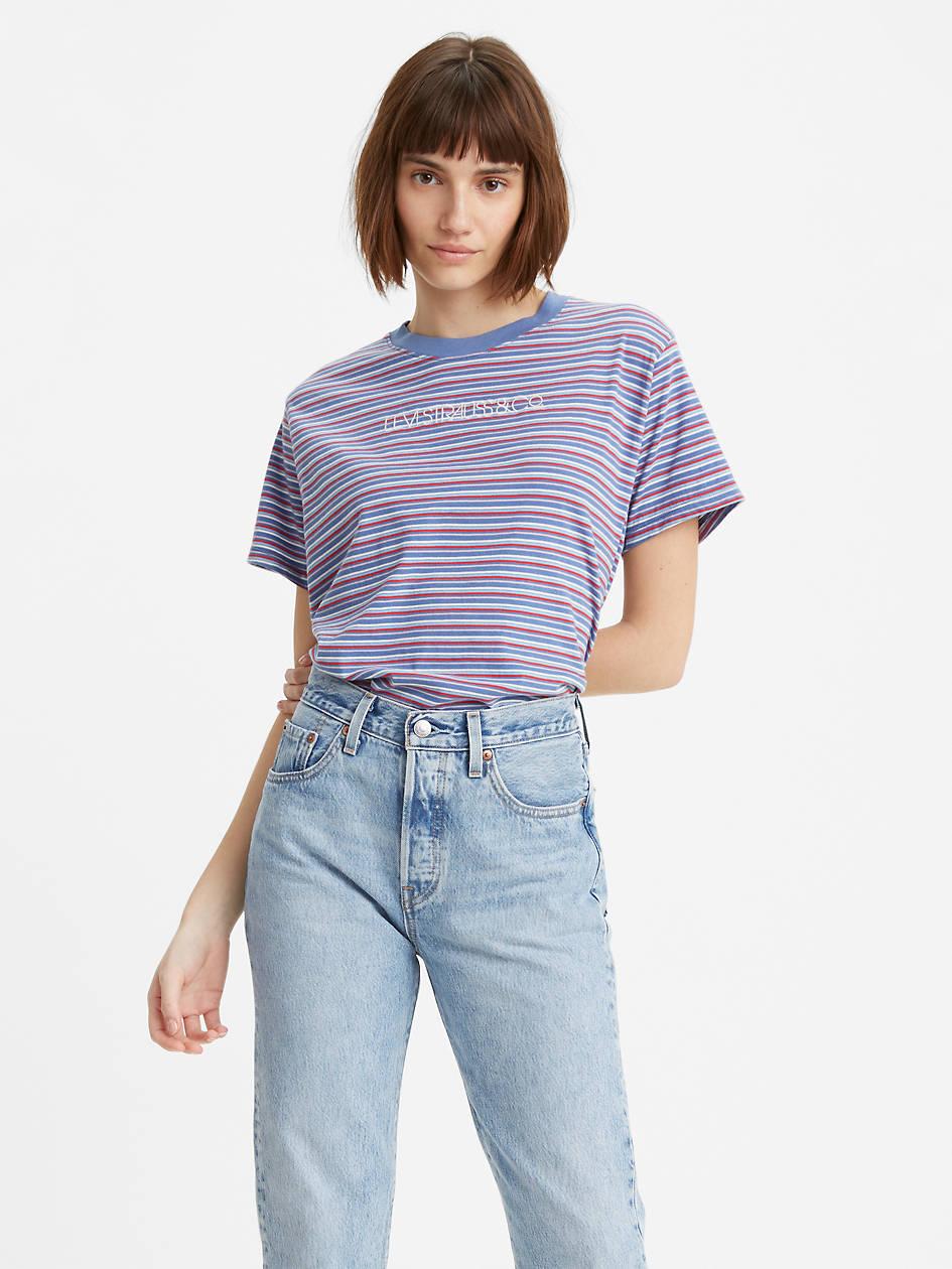 Graphic Varsity Tee Shirt - Multi-color | Levi's® US
