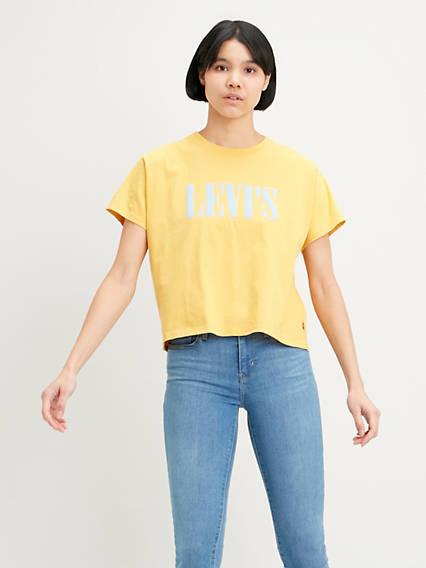 Graphic Varsity Tee Shirt