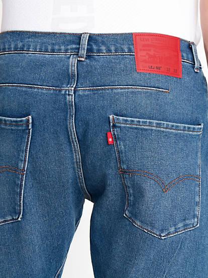 Levi's® Engineered Jeans 502™ Taper Niebieski | Levi's® PL