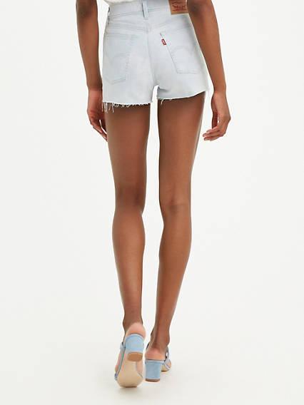 High Rise Womens Shorts