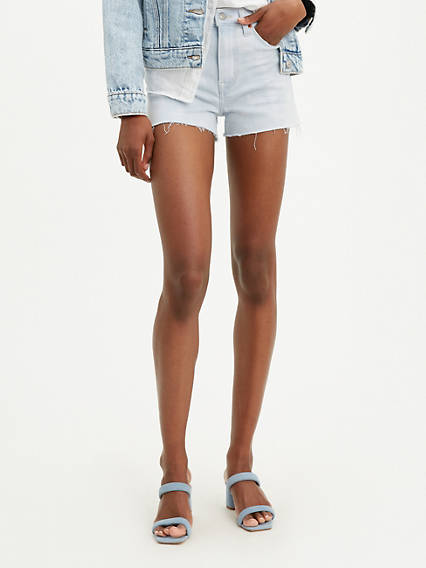 High Rise Womens Shorts