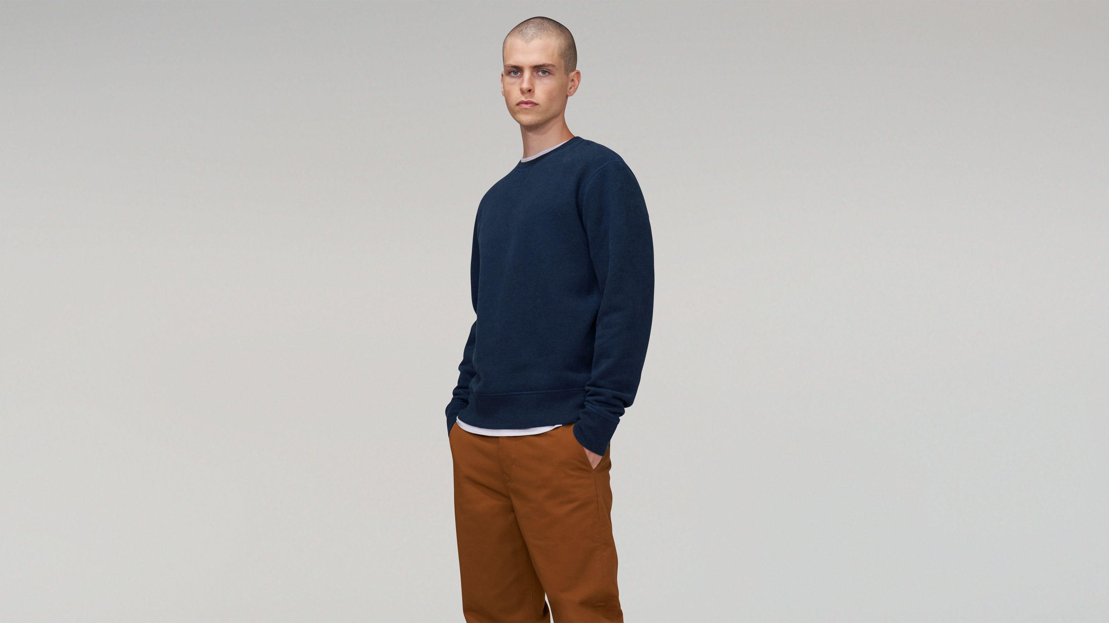 Levis Relaxed Crewneck Sweatshirt